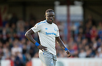 Oumar Niasse of Everton is included in the team during the U23 Premier League 2 match between Chelsea and Everton at the EBB Stadium, Aldershot, England on 25 August 2017. Photo by Andy Rowland.