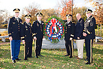 Col. Louis Sudholz, Brigadier General Harry J. Mott, Major General George E. Barker, Major General William Monk, Brigadier General Robert Winzinger, Major General Richard S. Colt