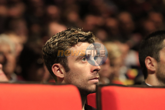 Pierre Latour (FRA) at the Tour de France 2020 route presentation held in the Palais des Congrès de Paris (Porte Maillot), Paris, France. 15th October 2019.<br /> Picture: Eoin Clarke | Cyclefile<br /> <br /> All photos usage must carry mandatory copyright credit (© Cyclefile | Eoin Clarke)