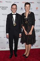 NEW YORK, NY - NOVEMBER 19: Tristan Chytroschek and Susanne Mertens at the 40th International Emmy Awards in New York. November 19, 2012. © Diego Corredor/MediaPunch Inc. /NortePhoto