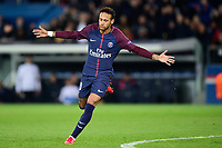 Celebration Esultanza de Neymar Jr (PSG) apres son but<br /> Parigi 31-10-2017 <br /> Paris Saint Germain - Anderlecht Champions League 2017/2018<br /> Foto Panoramic / Insidefoto