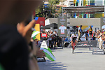Jorge Cubero Galvez (ESP) Burgos-BH first man off the ramp to start Stage 1 of the La Vuelta 2018, an individual time trial of 8km running around Malaga city centre, Spain. 25th August 2018.<br /> Picture: Ann Clarke | Cyclefile<br /> <br /> <br /> All photos usage must carry mandatory copyright credit (© Cyclefile | Ann Clarke)
