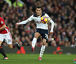 Dele Alli of Tottenham during the English Premier League match at Old Trafford Stadium, Manchester. Picture date: December 11th, 2016. Pic Simon Bellis/Sportimage