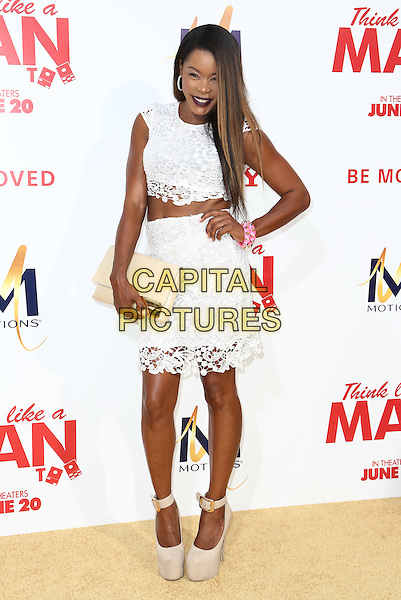 HOLLYWOOD, CA - JUNE 9: Golden Brooks   attends the &quot;Think Like a Man Too&quot; Premiere at TCL Theatre in Hollywood, California on June 9, 2014.   <br /> CAP/MPI/mpi99<br /> &copy;mpi99/MediaPunch/Capital Pictures