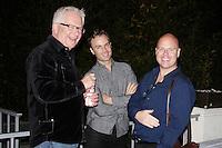 LOS ANGELES - NOV 9: Guest, Dan Kitowski, Scott Appel at the special screening of Matt Zarley's 'hopefulROMANTIC' at the American Film Institute on November 9, 2014 in Los Angeles, California