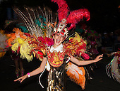 13 September 2009. The Mayor's Thames Festival. Paraiso School of Samba. (Photo: Bettina Strenske)