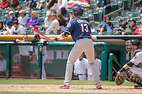 Cody Ransom (13) of the Reno Aces at bat against the Salt Lake Bees in Pacific Coast League action at Smith's Ballpark on May 10, 2015 in Salt Lake City, Utah.  Salt Lake defeated Reno 9-2 in Game One of the double-header. (Stephen Smith/Four Seam Images)