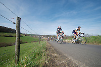 48th Amstel Gold Race 2013..up the Keutenberg (max 22%)