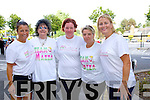 Mandy Hudson, Eileen O'Shea, Donnagh O'Mahony, Kerry O'Mahony, Claire Molloy at the Born to Run Ultra Marathon on Saturday