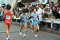 (L to R) Akinobu Murasawa (Tokai-Univ), Daichi Motomura (Tokai-Univ), JANUARY 2, 2012 - Athletics : The 88th Hakone Ekiden Race the Tsurumi Relay place in Kanagawa, Japan. (Photo by Atsushi Tomura/AFLO SPORT) [1035].