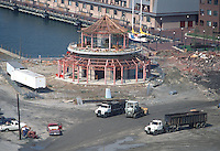 1988 October 05..Redevelopment.Downtown West (A-1-6)..MOLASSES TANK.TAIWAN PAVILION.PROGRESS PHOTOS...NEG#.NRHA#..