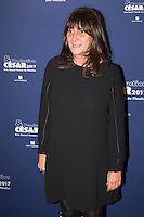 Sylvie Pialat attends the 'Cesar 2017 Diner Des Producteurs' at the Four Seasons Hotel George V on February 20, 2017 in Paris, France. # DINER DES PRODUCTEURS DES CESAR 2017