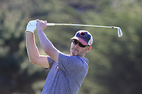 Tom Dundon tees off the 5th tee at Spyglass Hill during Thursday's Round 1 of the 2018 AT&amp;T Pebble Beach Pro-Am, held over 3 courses Pebble Beach, Spyglass Hill and Monterey, California, USA. 8th February 2018.<br /> Picture: Eoin Clarke | Golffile<br /> <br /> <br /> All photos usage must carry mandatory copyright credit (&copy; Golffile | Eoin Clarke)