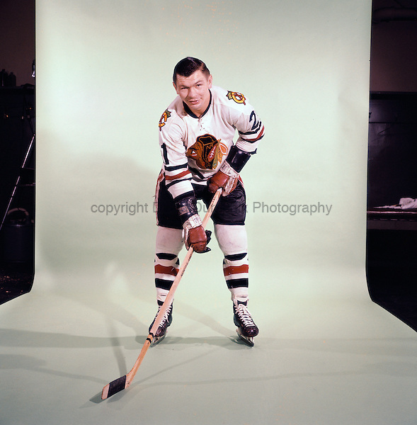 PORTRAIT OF STAN MIKITA,  of the Chicago Blackhawk, believed to be from the 1966 season