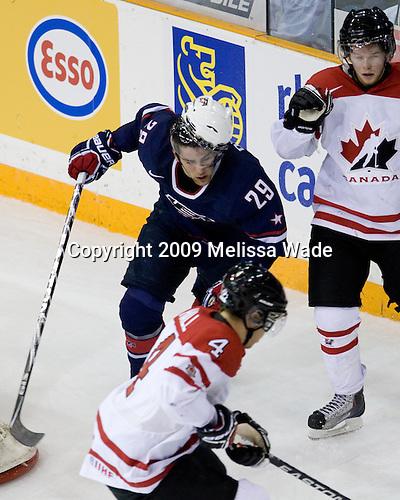 Jerry D'Amigo (USA - 29), Ryan Ellis (Canada - 6) - Team Canada defeated Team USA 5-4 (SO) on Thursday, December 31, 2009, at the Credit Union Centre in Saskatoon, Saskatchewan, during the 2010 World Juniors tournament.