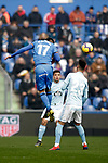 Getafe CF' Mathias Oliveras  and Celta de Vigo's Brais Mendez  during La Liga match. February 09,2019. (ALTERPHOTOS/Alconada)