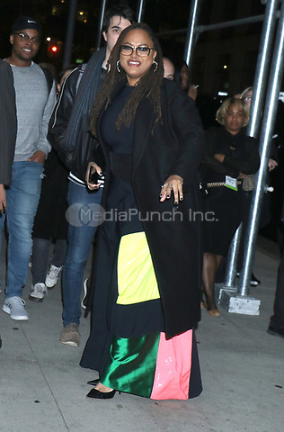 NEW YORK, NY - NOVEMBER 11: Ava DuVernay at the 2019 Glamour Women of the Year Awards at Alice Tully Hal, Lincoln Center in New York City on November 11, 2019. Credit: RW/MediaPunch