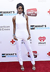 """BURBANK, CA - APRIL 20:  Singer Diamond White attends What's Trending's Fourth Annual Tubeathon Benefitting American Red Cross at iHeartRadio Theater on April 20, 2016 in Burbank, California.  (Photo by Vivien Killilea/Getty Images for iHeartMedia)"""