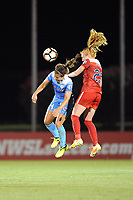 Boyds, MD - Saturday August 26, 2017: Danielle Colaprico, Tori Huster during a regular season National Women's Soccer League (NWSL) match between the Washington Spirit and the Chicago Red Stars at Maureen Hendricks Field, Maryland SoccerPlex.