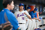 Daisuke Matsuzaka (Mets),<br /> AUGUST 23, 2013 - MLB :<br /> Daisuke Matsuzaka of the New York Mets in the dugout during the Major League Baseball game against the Detroit Tigers at Citi Field in Flushing, New York, United States. (Photo by Thomas Anderson/AFLO) (JAPANESE NEWSPAPER OUT)