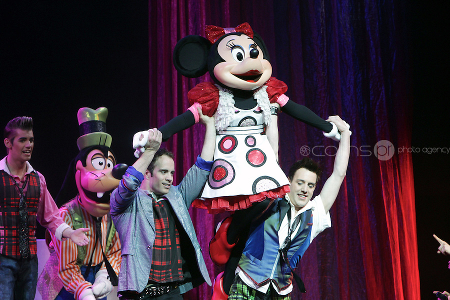 NO FEE PICTURES 5/5/11 Pictured at the opening night of Disney Live! Mickeys Musical Adventure at the Grand Canal Theatre, Dublin. The spectacular stage show features all your Disney favourites and runs until this Sunday. Picture:Arthur Carron/Collins