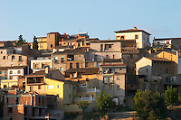 Gratallops village. Houses. Priorato, Catalonia, Spain