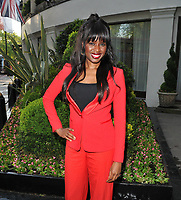 June Sarpong at the British Book Awards 2019, Grosvenor House Hotel, Park Lane, London, England, UK, on Monday 13th May 2019.<br /> CAP/CAN<br /> &copy;CAN/Capital Pictures