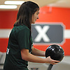 Paige Donovan of Seaford rolls a frame during the Nassau County varsity girls bowling small schools championship at AMF Garden City Lanes  on Saturday, Feb. 3, 2018.