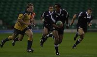 24/05/2002 (Friday).Sport -Rugby Union - London Sevens.New Zealand vs Australia.Joe Rokocoko[Mandatory Credit, Peter Spurier/ Intersport Images].