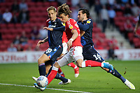 Conor Gallagher of Charlton takes a shot at the Nottingham Forest goal during Charlton Athletic vs Nottingham Forest, Sky Bet EFL Championship Football at The Valley on 21st August 2019