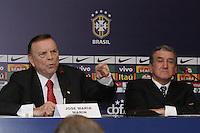 Jose Maria Marin presidente da Confederacao Brasileira de Futebol no Hotel Windsor, na Barra da Tijuca, na zona oeste do Rio de Janeiro, nesta quinta-feira. (FOTO; ROBERTO FILHO / BRAZIL PHOTO PRESS).