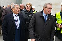 Bernard Cazeau et Germinal Peiro, Président du Conseil Départemental de Dordogne