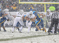 Philadelphia, PA - December 9, 2017:     Army Black Knights running back Andy Davidson (40) gets tackled during the 118th game between Army vs Navy at Lincoln Financial Field in Philadelphia, PA. (Photo by Elliott Brown/Media Images International)