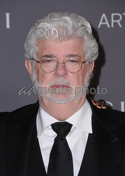 04 November  2017 - Los Angeles, California - George Lucas. 2017 LACMA Art+Film Gala held at LACMA in Los Angeles. Photo Credit: Birdie Thompson/AdMedia