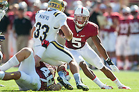 STANFORD, CA - The Stanford Cardinal upsets UCLA to improve their season record to 6-1.