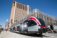 The Capital MetroRail commuter rail station, the Red Line, is adjacent to the Hilton Austin hotel in downtown Austin, Texas, adjacent to the Austin Convention Center. The city's vibrant shopping, dining and entertainment scene, famous 6th Street Entertainment District, Warehouse District and 2nd Street District are all located within walking distance of this Austin convention center hotel, and Austin Bergstrom International Airport ABIA is located seven miles away.
