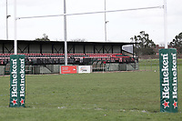 General view of the ground during Barking RFC vs Ilford Wanderers RFC, London 3 Essex Division Rugby Union at Gale Street on 9th February 2019