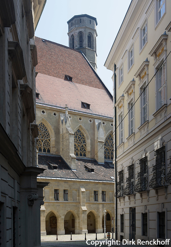 Minoritenkirche am Minoritenplazz, Wien, &Ouml;sterreich, Unesco-Weltkulturerbe<br /> church of Minorites, Vienna, Austria, world heritage