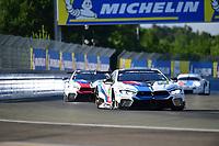 #82 BMW TEAM MTEK (DEU) BMW M8 GTE LM GTE PRO AUGUSTO FARFUS (BRA) ANTONIO FELIX DA COSTA (PRT) JESSE KROHN (FIN)