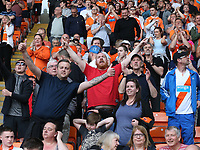 Blackpool fans celebrate their teams second goal<br /> <br /> Photographer Stephen White/CameraSport<br /> <br /> The EFL Sky Bet League One - Blackpool v Fleetwood Town - Monday 22nd April 2019 - Bloomfield Road - Blackpool<br /> <br /> World Copyright © 2019 CameraSport. All rights reserved. 43 Linden Ave. Countesthorpe. Leicester. England. LE8 5PG - Tel: +44 (0) 116 277 4147 - admin@camerasport.com - www.camerasport.com<br /> <br /> Photographer Stephen White/CameraSport<br /> <br /> The EFL Sky Bet Championship - Preston North End v Ipswich Town - Friday 19th April 2019 - Deepdale Stadium - Preston<br /> <br /> World Copyright © 2019 CameraSport. All rights reserved. 43 Linden Ave. Countesthorpe. Leicester. England. LE8 5PG - Tel: +44 (0) 116 277 4147 - admin@camerasport.com - www.camerasport.com