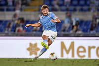 Ciro Immobile of Lazio scores the 2-0 goal<br /> during the Serie A football match between SS Lazio  and Brescia Calcio at stadio Olimpico in Roma (Italy), July 29th, 2020. Play resumes behind closed doors following the outbreak of the coronavirus disease. <br /> Photo Antonietta Baldassarre / Insidefoto