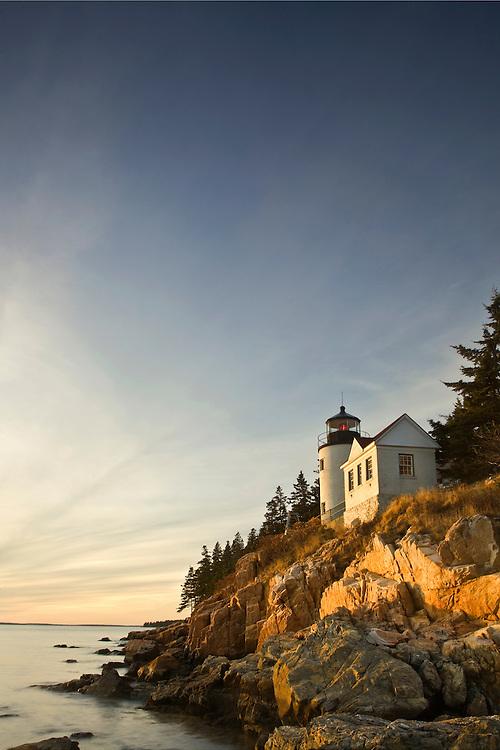 Bass Harbor Head Lighthouse at Acadia National Park, Maine