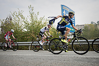 Roman Kreuziger (CZE/ORICA-Scott) catching his feedbag<br /> <br /> 98th Milano - Torino 2017 (ITA) 186km