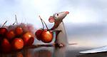"Robert Kondo, Remy in the Kitchen, ""Ratatouille,"" 2007. Digital painting."