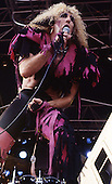 TWISTED SISTER - vocalist Dee Snider - performing live at the Heavy Sound Festival in Poperinge Belgium - 10 Jun 1984.  Photo credit: Ray Palmer Archive/IconicPix