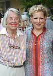 Liz Smith, Bette Midler attends the 12th Annual Spring Picnic Celebrating the Bette Midler New York Restoration Project's 18th Anniversary at Gracie Mansion in New York City on May 30th, 2013