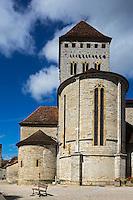 France, Aquitaine, Pyrénées-Atlantiques, Béarn, Sauveterre-de-Béarn:  Eglise Saint-André //  France, Pyrenees Atlantiques, Bearn, Sauveterre de Béarn: Saint-Andrew church