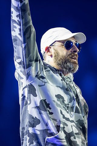06th July 2017 - Andreas Bourani performs with SIDO at Global Citizen Festival 2017 at Barclaycard Arena in Hamburg, Germany. | Verwendung weltweit/picture alliance /MediaPunch ***FOR USA ONLY***