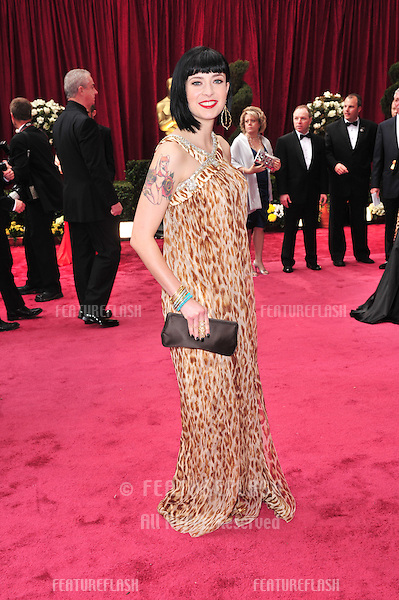 Diablo Cody at the 80th Annual Academy Awards at the Kodak Theatre, Hollywood, CA..February 24, 2008 Los Angeles, CA.Picture: Paul Smith / Featureflash