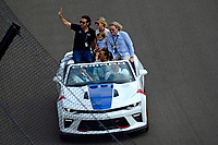 Verizon IndyCar Series<br /> Indianapolis 500 Race<br /> Indianapolis Motor Speedway, Indianapolis, IN USA<br /> Sunday 28 May 2017<br /> Dario Franchitti<br /> World Copyright: F. Peirce Williams<br /> LAT Images